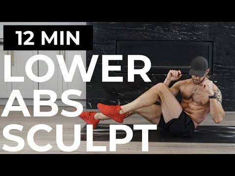 12 MIN LOWER ABS | LOWER ABS WORKOUT