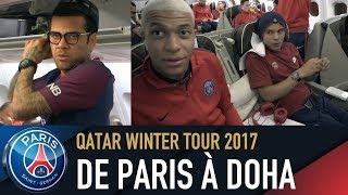 DE PARIS À DOHA with Neymar Jr, Mbappe, Alves