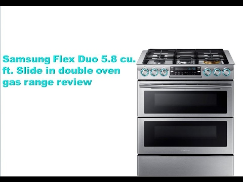slide in double oven gas range review - Double Oven Gas Range