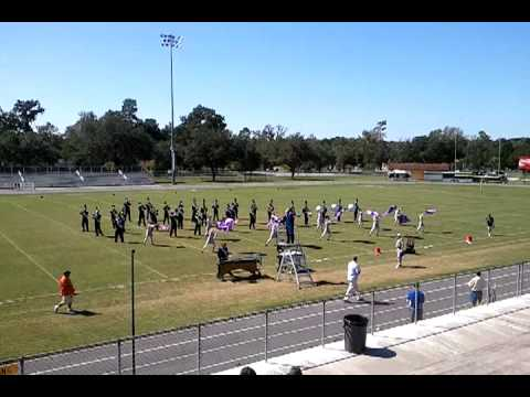 Belleview High School Band at Citrus Band Competition