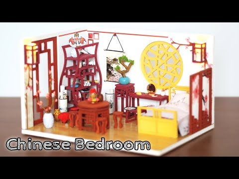 DIY Miniature Dollhouse Kit || Chinese Bedroom - Miniature Land