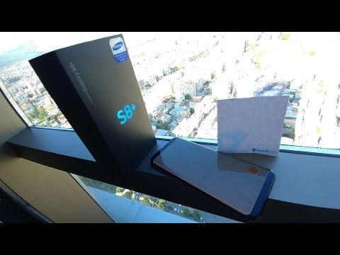 Samsung Galaxy S8+ Kutu Açılışı
