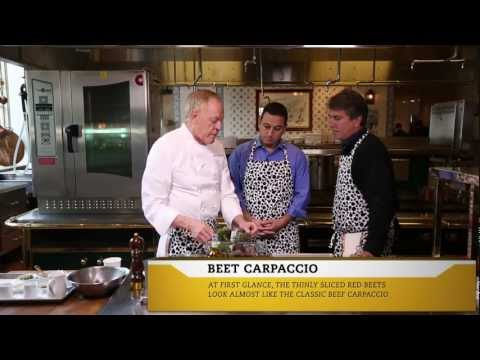 Epicure Episode 1: The Inn at Little Washington - Beet Carpaccio