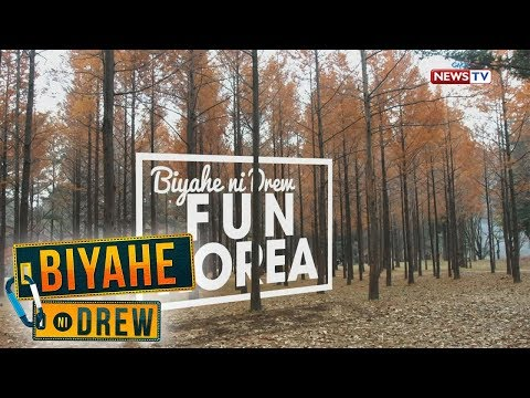 Biyahe ni Drew: Let's have some fun in Korea (Full episode)