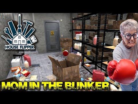 Sending Mom Into The Bunker | House Flipper Gameplay | EP14