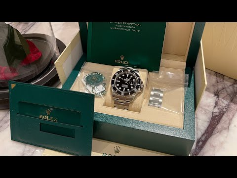 4K Unboxing U0026 Review $9,500 NEW Rolex Submariner Date 126610LN