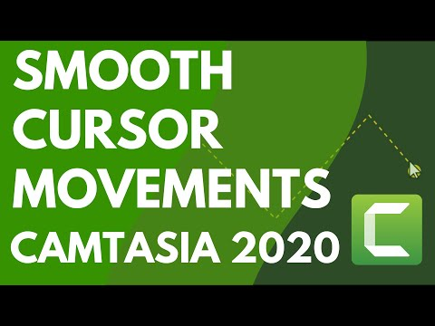 Camtasia: Smooth Out the Cursor in Screen Recordings (2019)