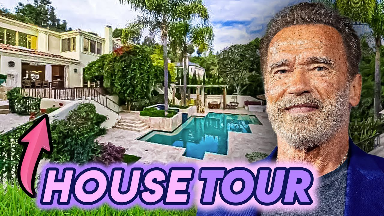 Arnold Schwarzenegger | House Tour | Pacific Palisades & Brentwood Mansions