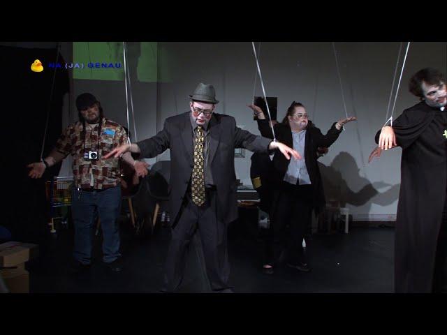 NA (JA) GENAU beim Theater Delphin - MARIONETTEN