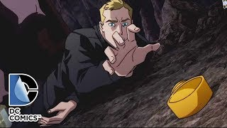 Бэтмен жестко избивает Флэша.Лига справедливости: ПИК