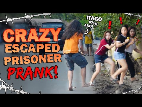 Crazy Escaped Prisoner Prank!