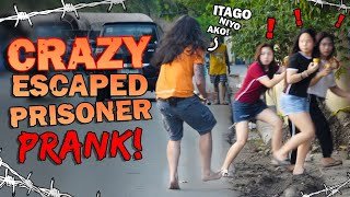 Crazy Escaped Prisoner Prank!