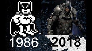 Evolution of Batman Games in 8 Minutes