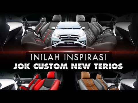 All New Terios - Inspirasi Jok Custom