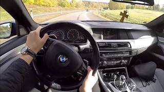 700hp Bmw M5 f10 60 FPS POV/ test drive acceleration