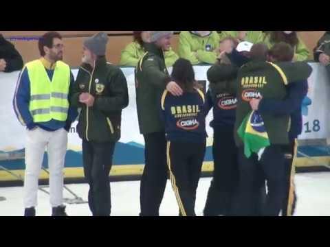 Eisstock EM 2018, U19 Team Zielwettbewerb
