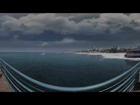 Santa Monica Sea Level Rise 360 VR