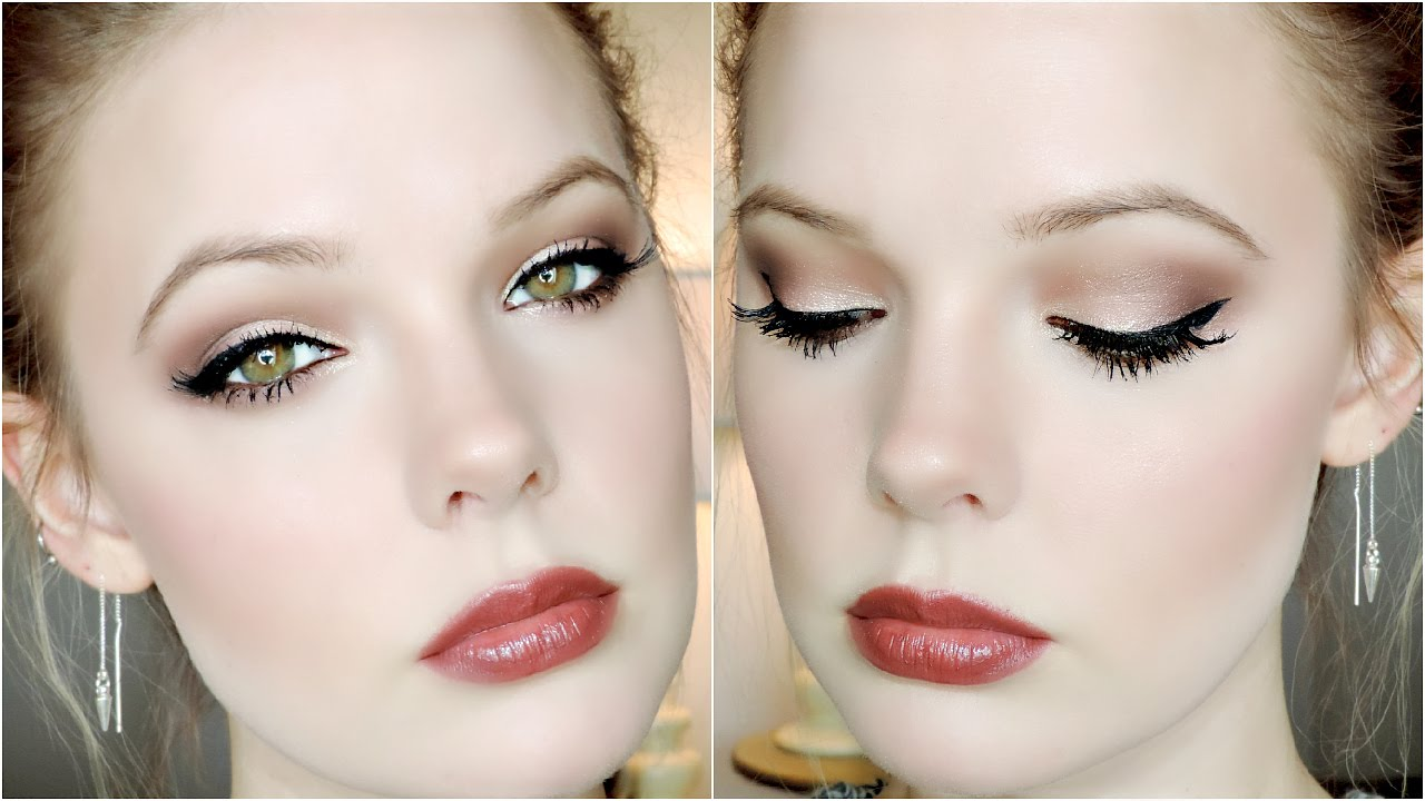 CHAMPAGNE EYES TUTORIAL | Too Faced Chocolate Bar Palette ...
