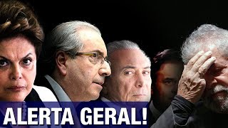 Alerta urgente de delegado sobre 'acordão' para salvar Lula, Temer e Aécio repercute