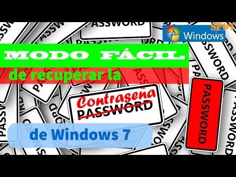 Recuperar la contraseña de Windows 7 sin CD si la olvidas