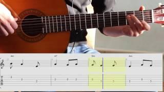 Мелодия на гитаре