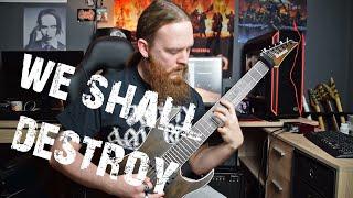 Amon Amarth - We Shall Destroy (Guitar Cover by FearOfTheDark)