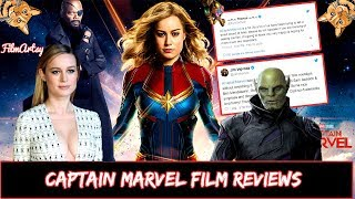 Captain Marvel Movie Reviews - Is it Good or Bad? Brie Larson 2019