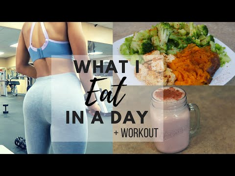 WHAT I EAT IN A DAY + WORKOUT ROUTINE | VEGAN