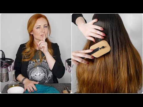 🎧 Sounds Only ASMR Hair Spa 🎧 Crinkle Cap, Brushing, Oil Bot