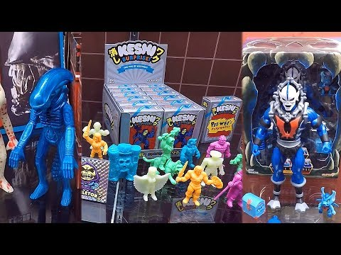 He-Man Masters Of The Universe Action Figure Collection New York Toy Fair 2018 Super7 Booth Tour