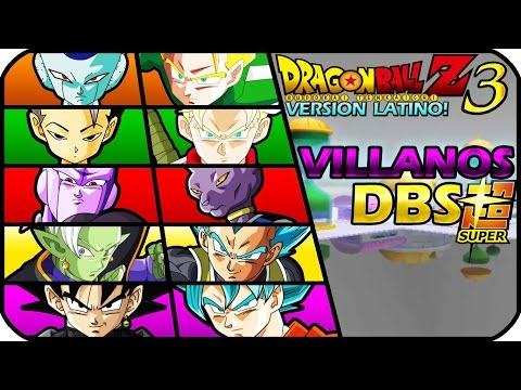DRAGON BALL Z BUDOKAI TENKAICHI 3 VERSION LATINO GAMEPLAY VILLANOS DBS