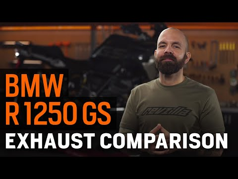 Thumbnail for BMW R 1250 GS Exhaust Comparison Guide