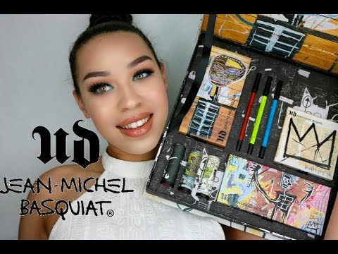 NEW Urban Decay Jean Michel Basquiat Collection Demo & Swatches | Victoria Lane