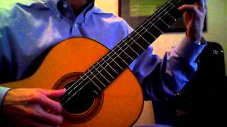 Original melodic rock song on classical guitar called, Forever.mov