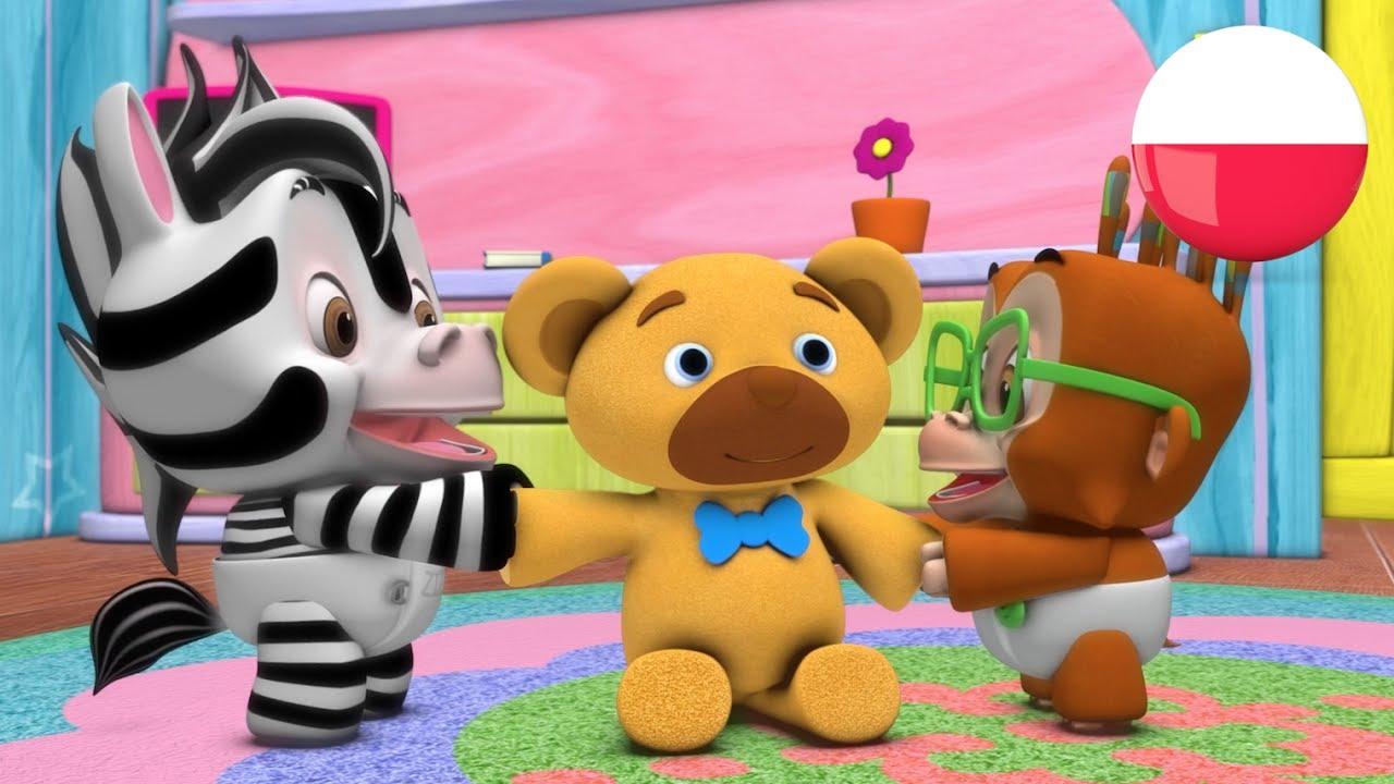 Misiu Mój Obróć Się Polskie Piosenki Dla Dzieci Przedszkolnym My Teddy Bear Turn Around