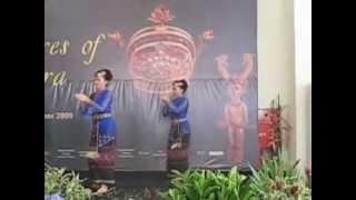 Sumatra Exhibition Jakarta: Batak dance and gondang Korem Sihombing Group