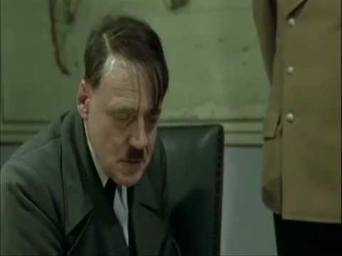 Hitler finds out the hobbits have been taken to Isengard