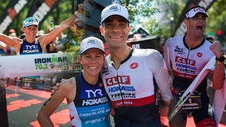 Family affair at Ironman Augusta 70.3 Double win