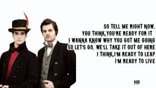 Panic! At The Disco - Ready to Go (Get me out of my mind) Lyrics