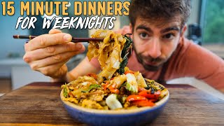 These 15 Minute Dinners Will Change Your Life
