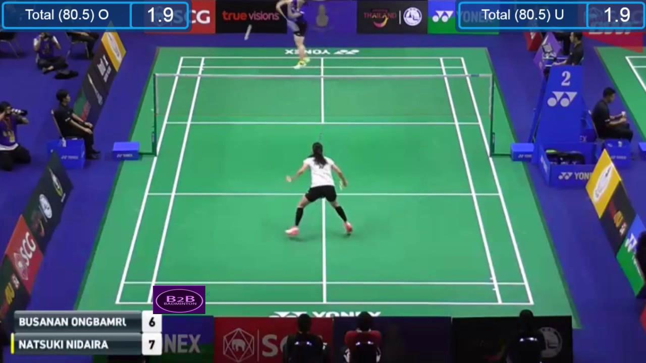 Thailand Masters 2017 R1 WS Busanan gbamrungphan vs Natsuki
