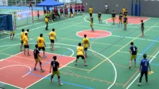 2014新界西區中學閃避球錦標賽 中學男子組 上半場 路德會