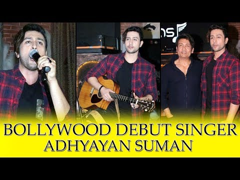 Adhyayan Suman Launches His 1st Music...