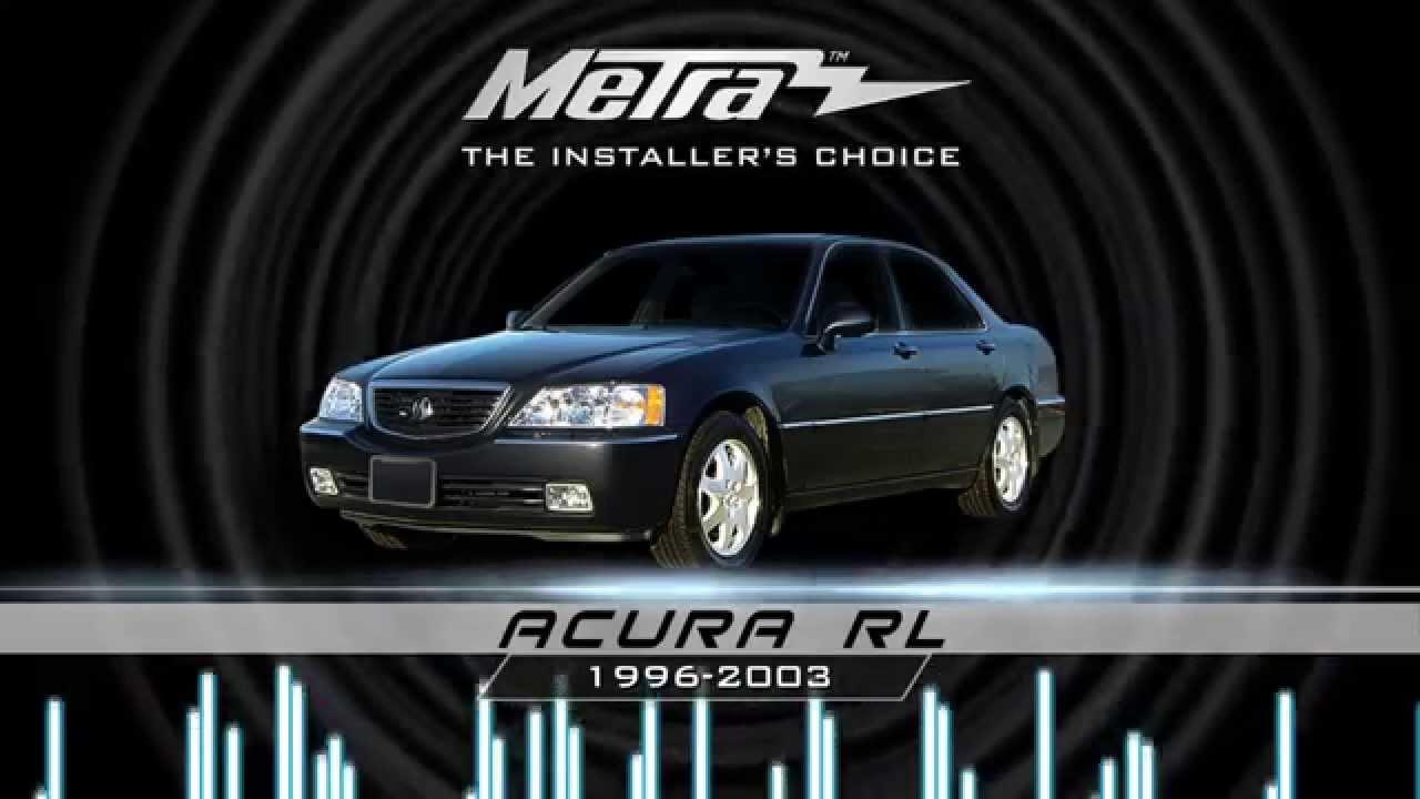 medium resolution of metra acura rl stereo dash kit 99 7806b