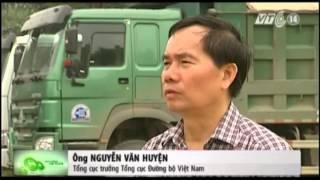 VTC14_Bắt xe quá tải 400% tại Hà Nội