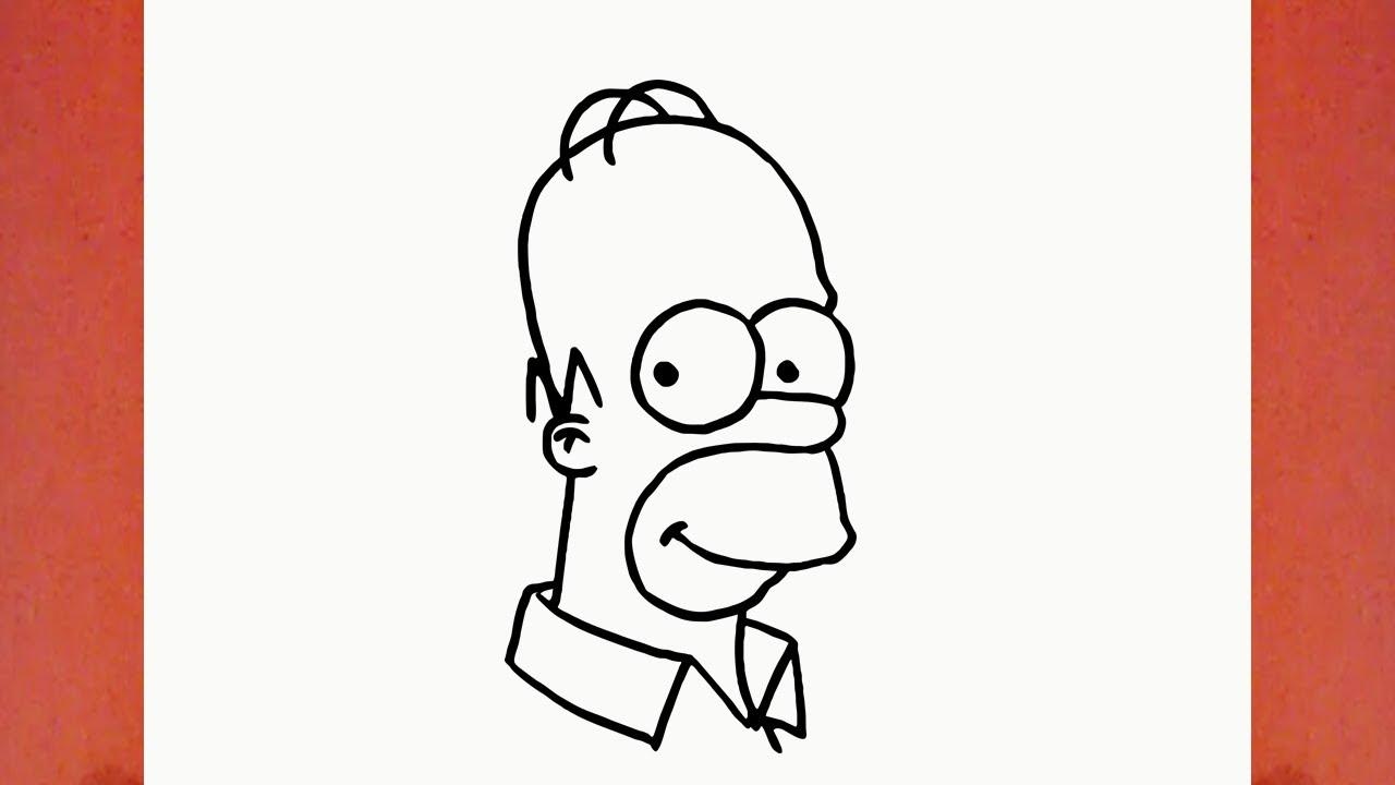 Comment dessiner homer simpson de les simpsons youtube - Comment dessiner les simpson ...