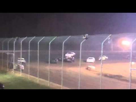 Ark La Tex speedway factory stock heat race