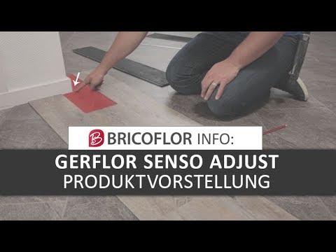 Bevorzugt Gerflor Senso Adjust | Loose Lay Vinyl - YouTube OD36