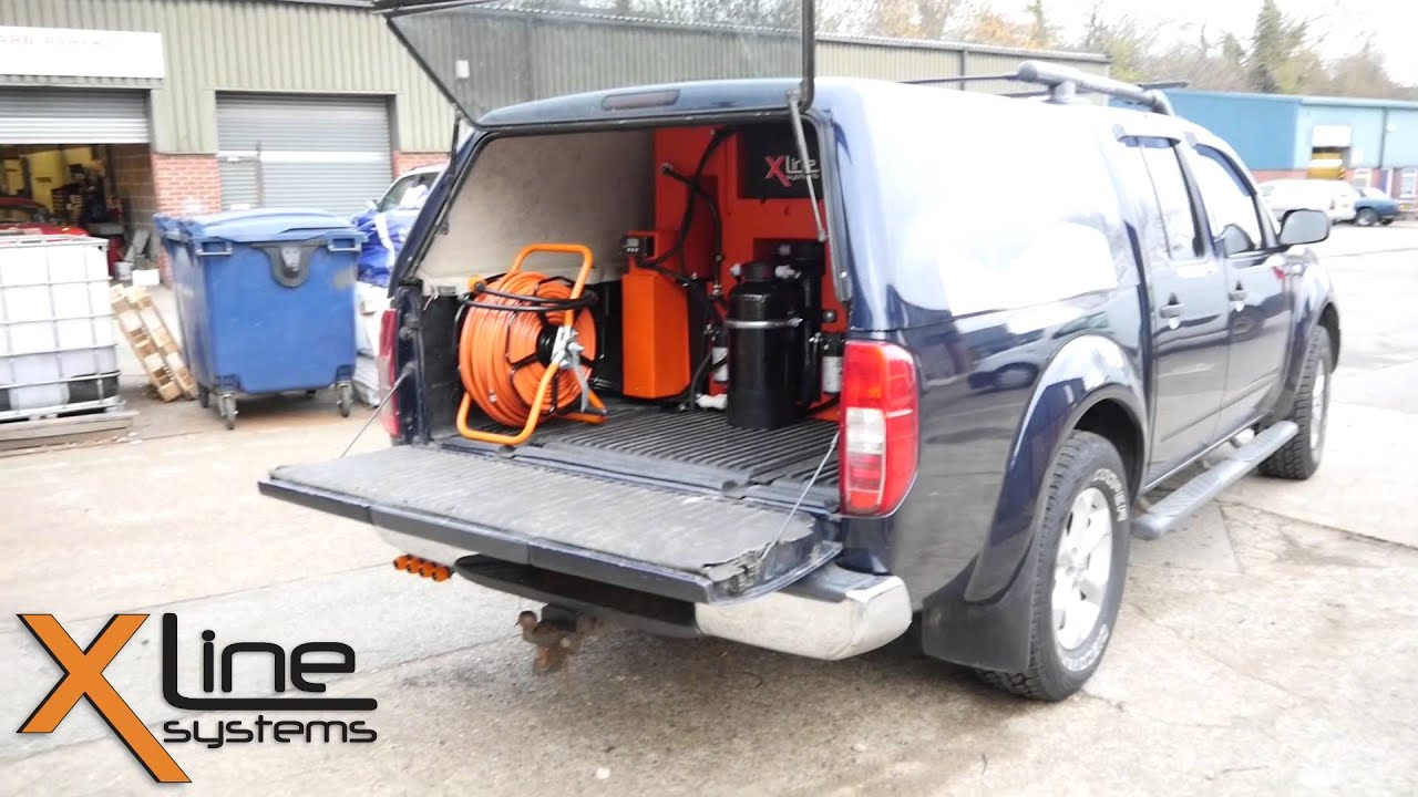 Truck Mounted 350ltr Window Cleaning System For Wfp Use