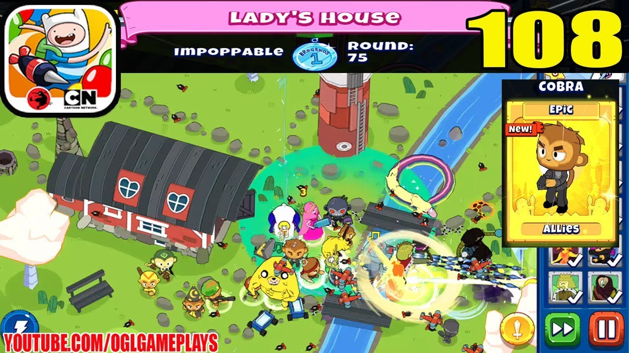 Bloons Adventure Time Td Lady S House Impoppable Mode